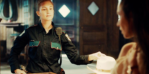 Hold onto your Stetsons, 'cause it's about to get haught in here...(and if you're wearing a Stetson and you're not Nicole Haught, stop.)